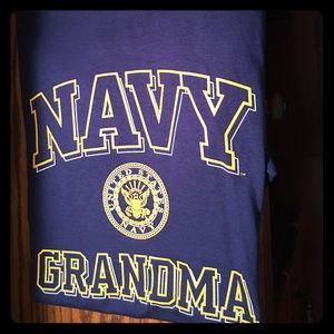 Navy Granma T-Shirt